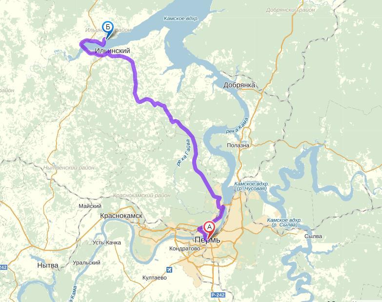 Расположение: 99 км от Перми
